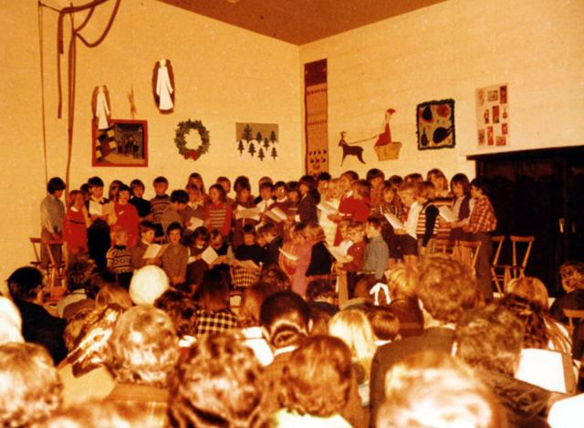 A concert at the old building in High St.