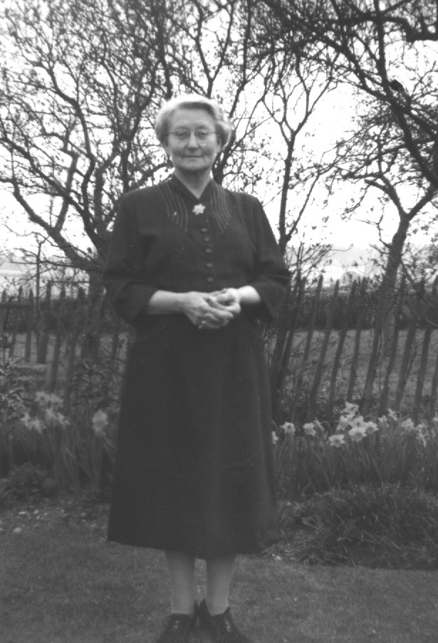 Maud Walker who lived at Hill Farm