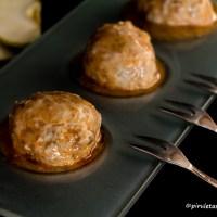 Albóndigas de bonito y manzana con salsa marinera