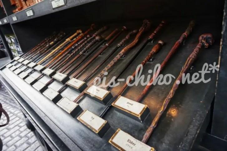 ハリーポッターの杖のお店