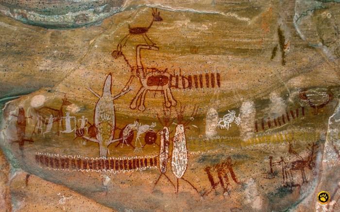 pinturas rupestres da serra da capivara