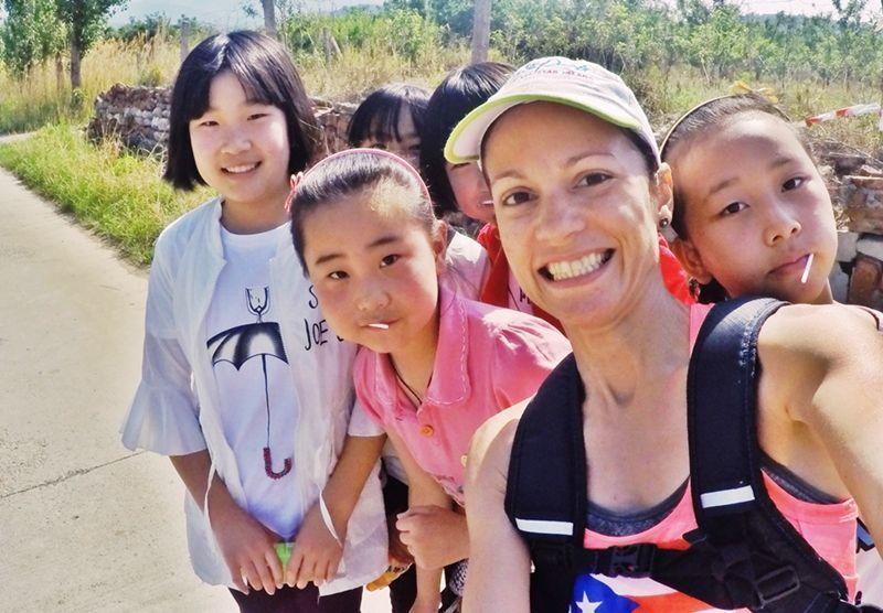 Fotos con niñas chinas