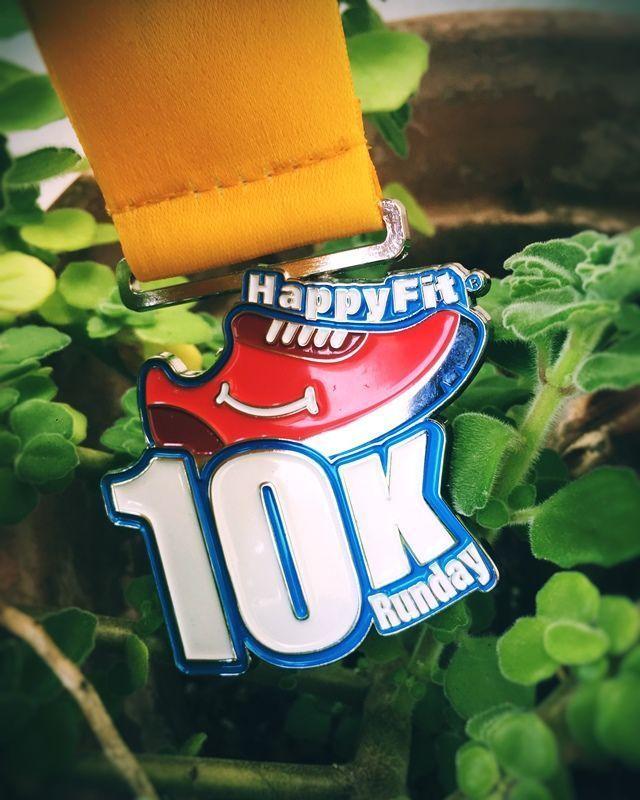 Medalla 10k HappyFit