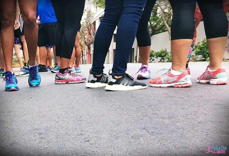 Mujeres runners