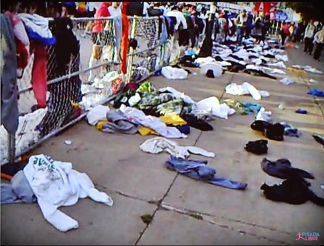 Chicago 2009, ropa lanzada