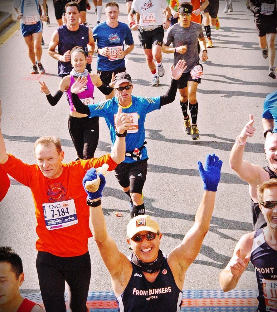 Runners felices, New York marathon