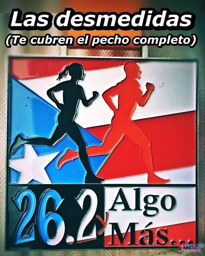 Ejemplo de Medalla enorme: Ultra Maratón 26.2 y Algo Más