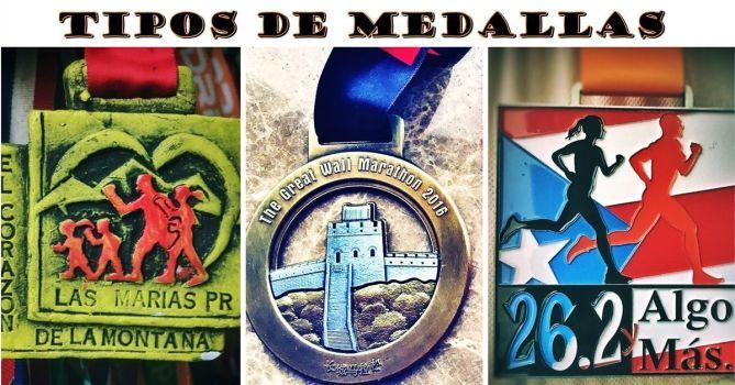 Tipos de medallas