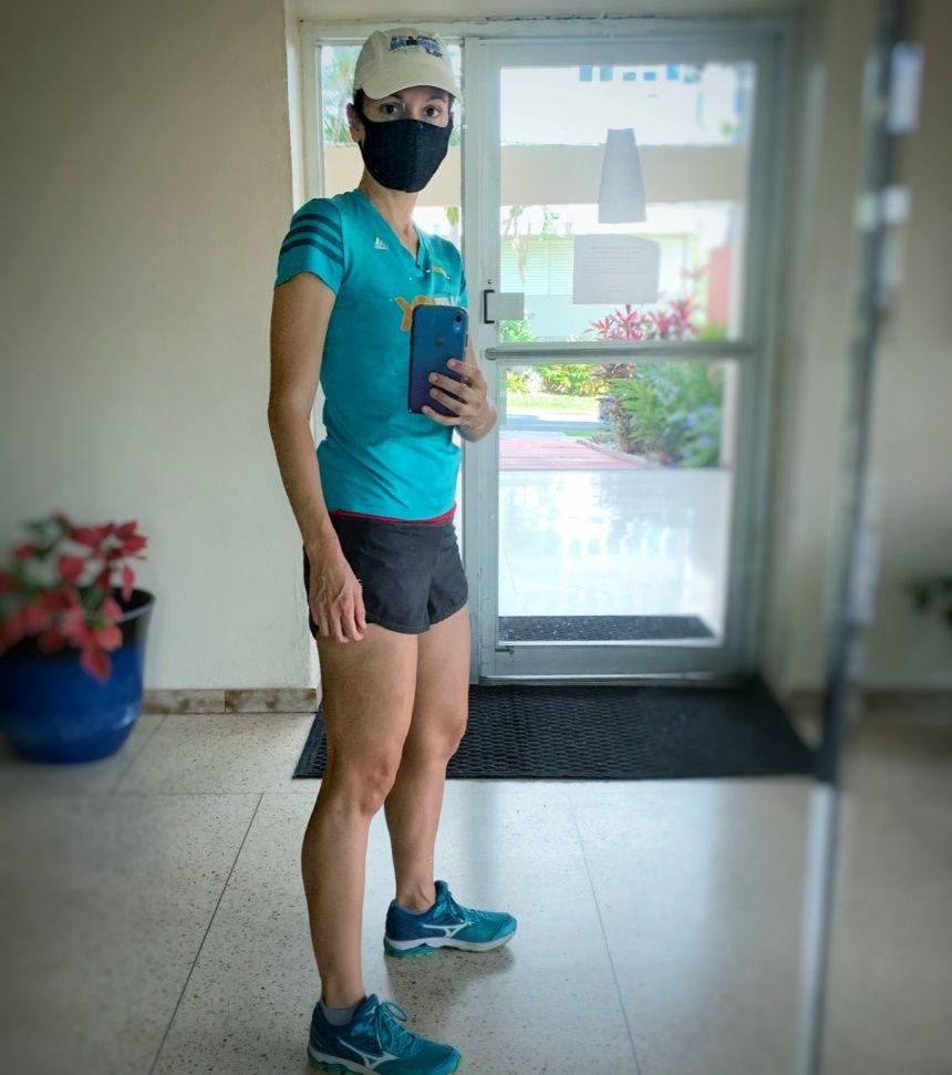 maña para running con calor