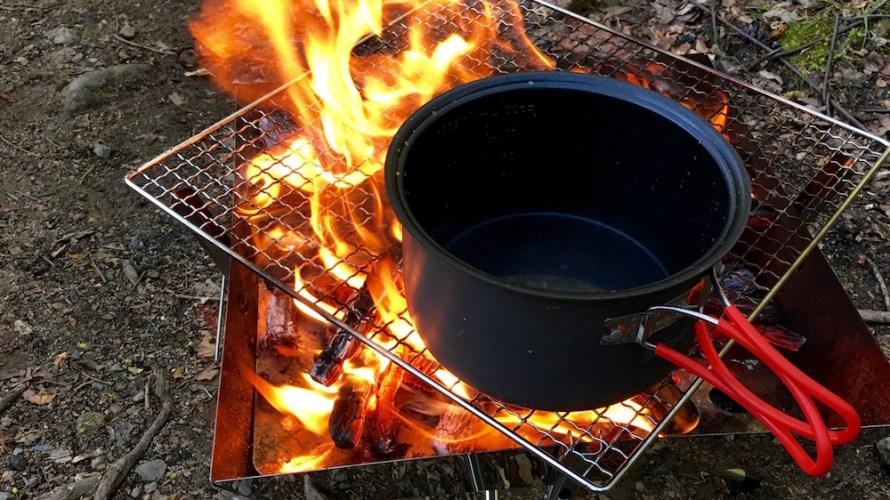 【レビュー】BBQもできる焚き火台はユニフレーム ファイアグリルがおすすめ!
