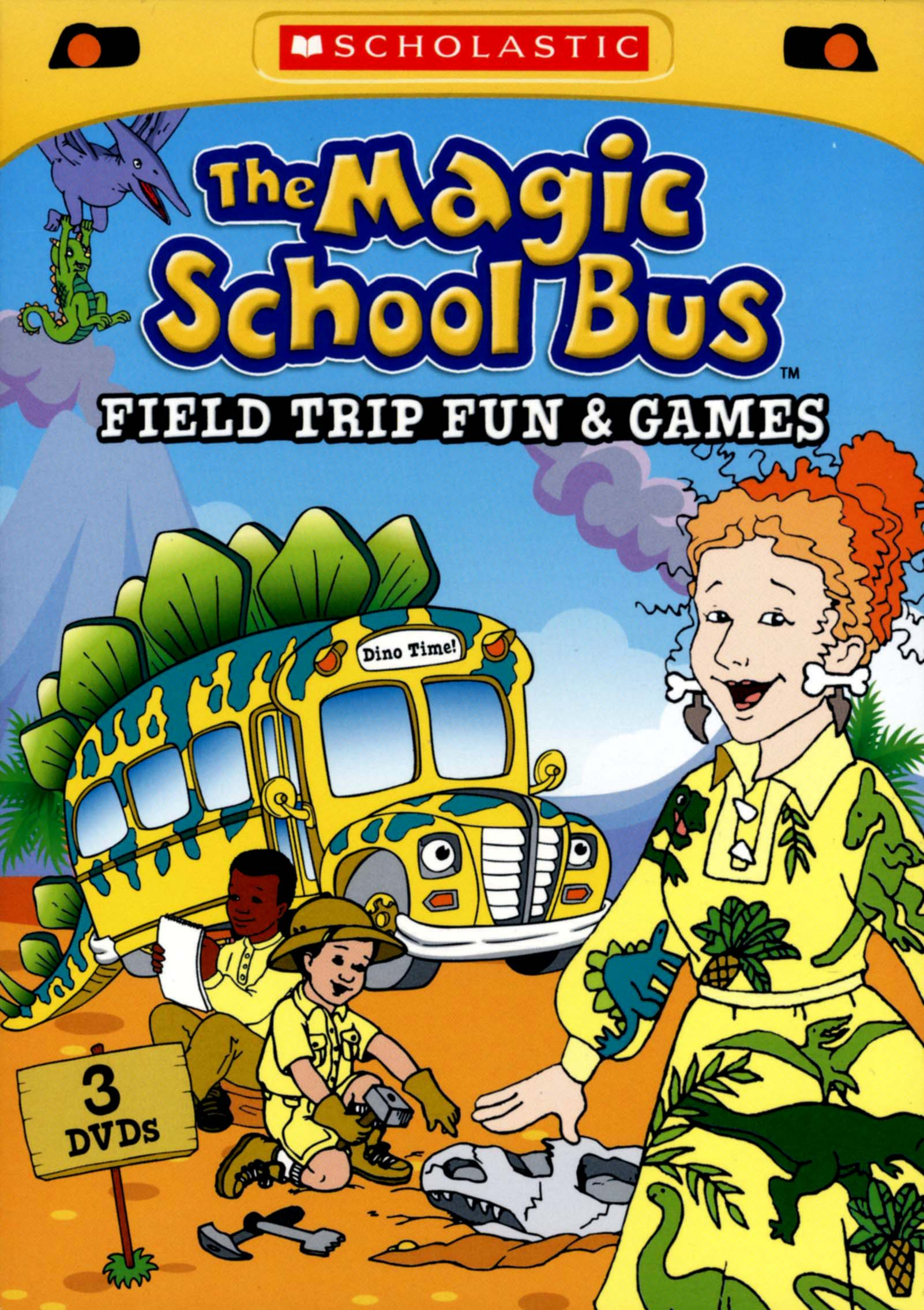 The Magic School Bus Field Trip Fun And Games 3 Discs