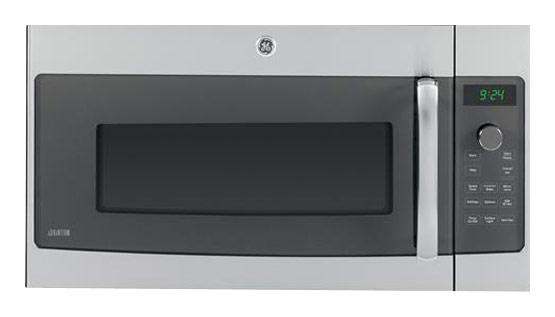 ge profile series advantium 240 1 7 cu ft over the range microwave stainless steel