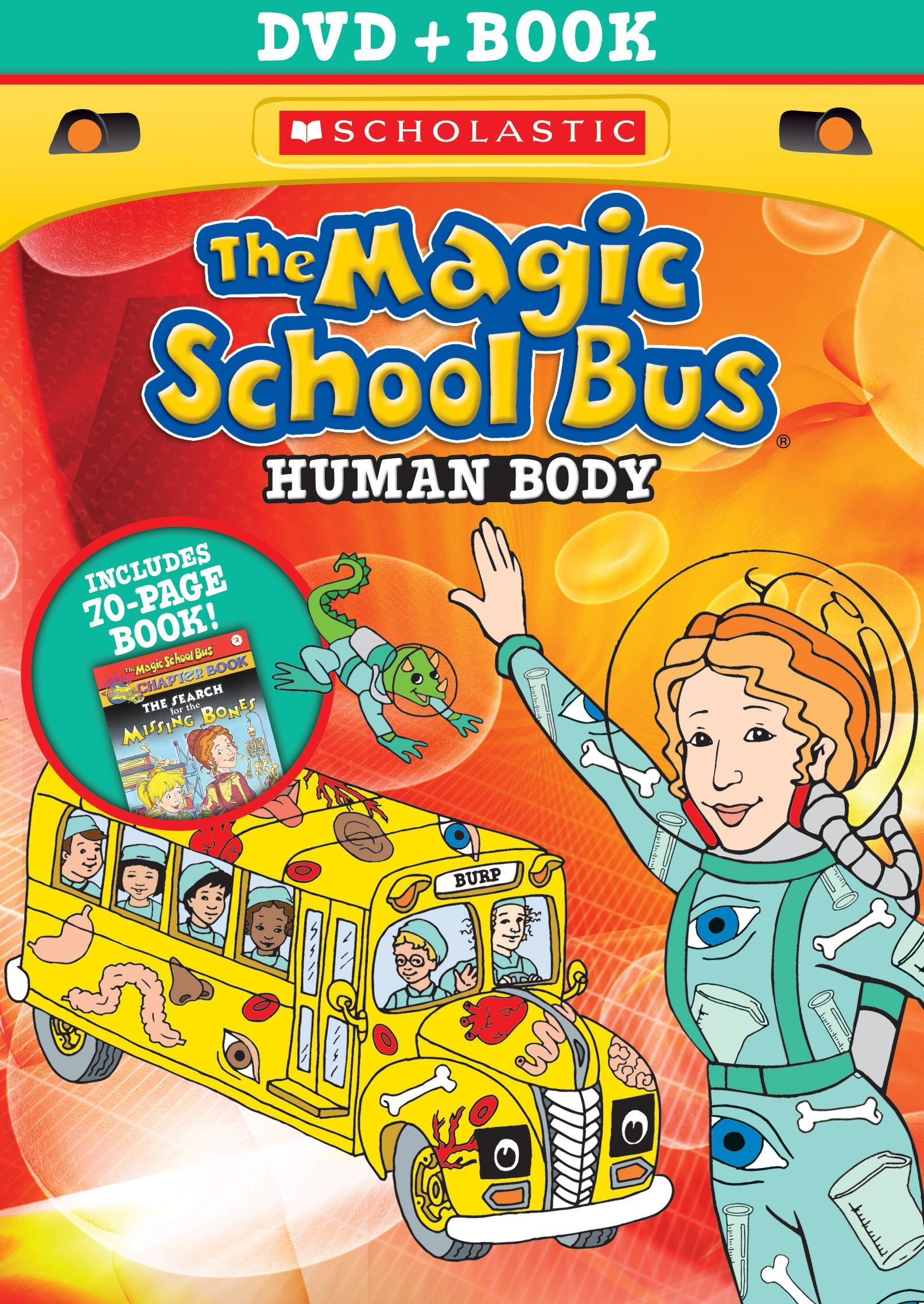 The Magic School Bus Human Body With Book Dvd