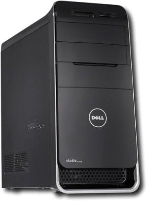 Dell Studio XPS Desktop  6GB Memory  1TB Hard Drive