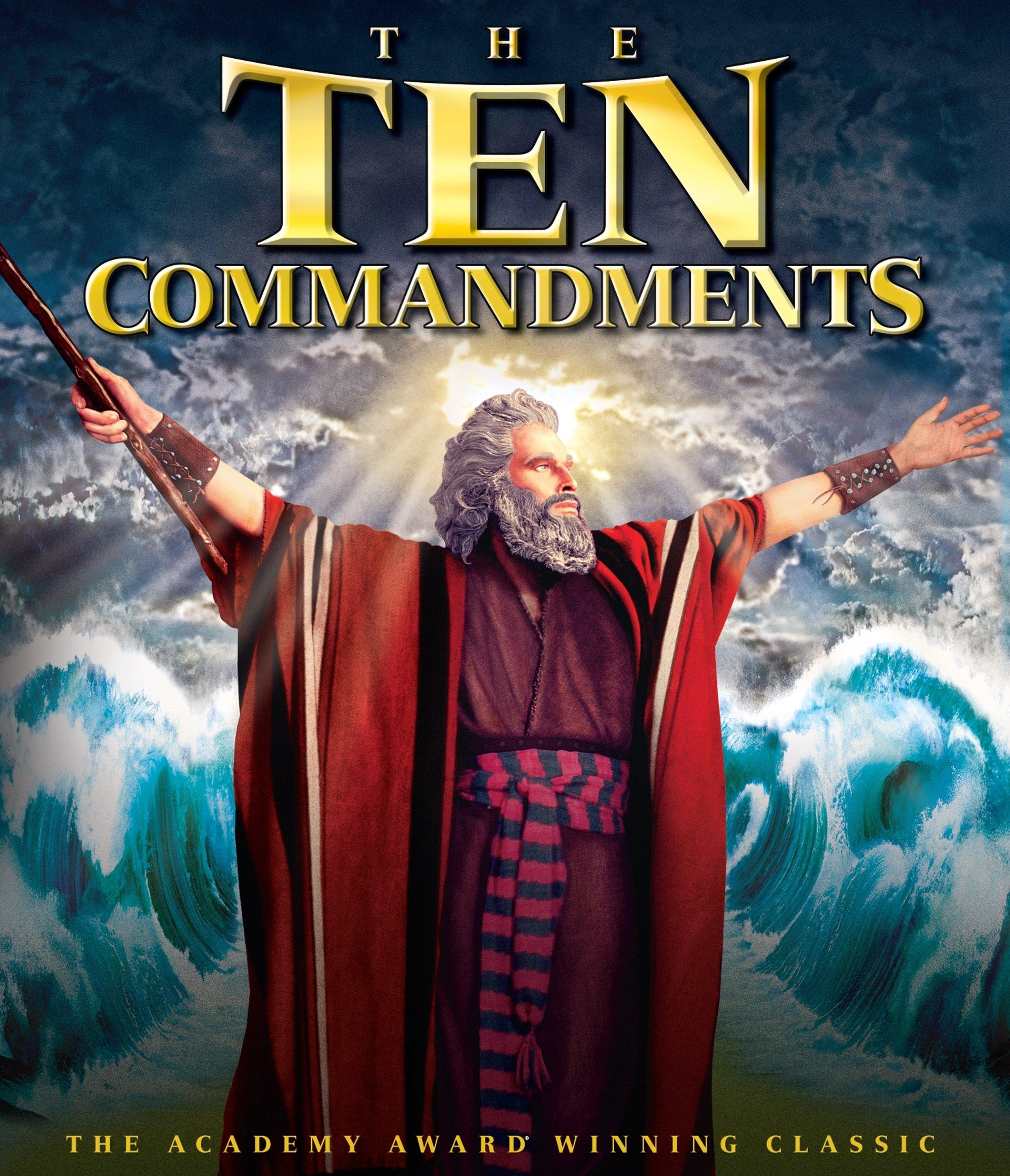 The Ten Commandments Blu Ray 2 Discs