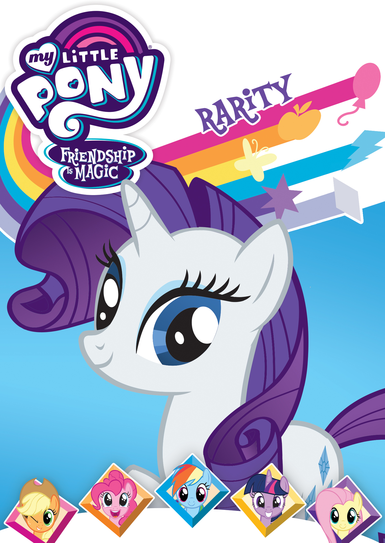 My Little Pony Friendship Is Magic Rarity Dvd Best Buy
