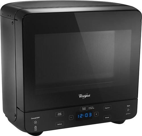 whirlpool 0 5 cu ft compact microwave black