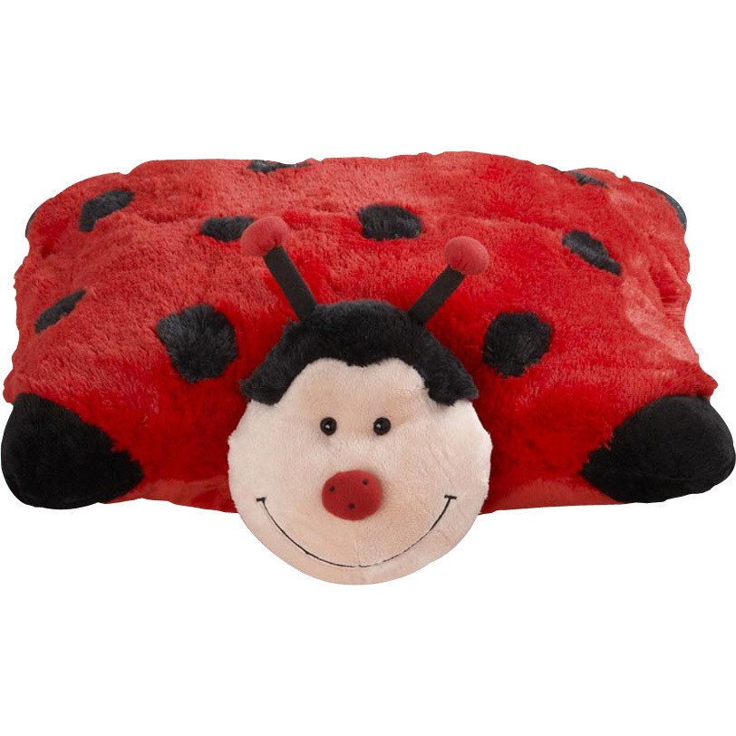 pillow pets ms lady bug decorative
