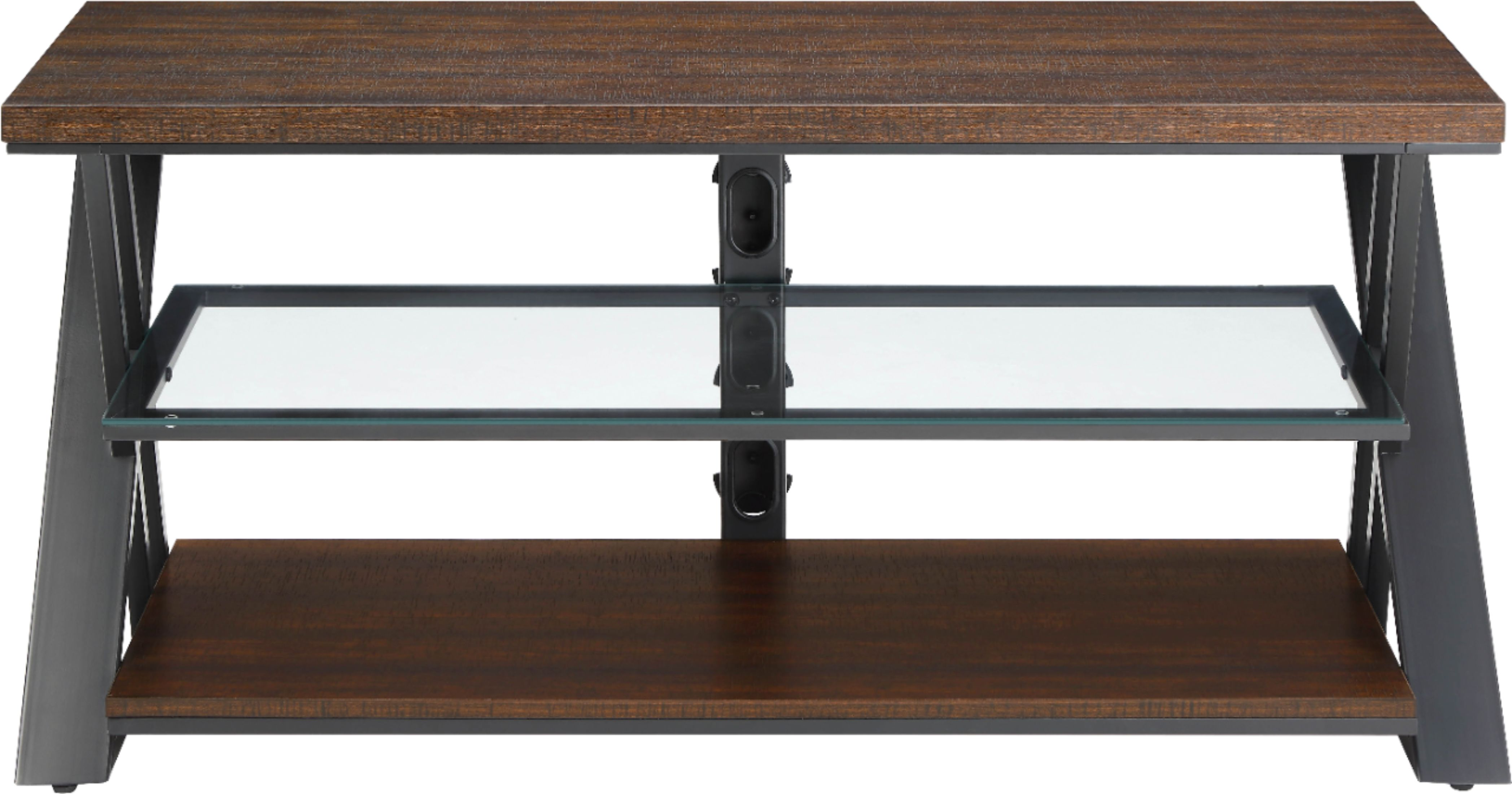 Whalen Furniture TV Console For Most Flat Panel TVs Up To