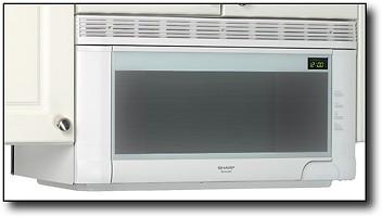 range microwave white r 1502