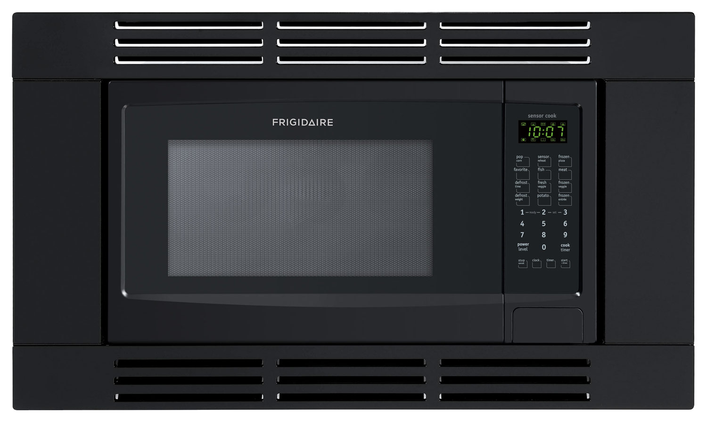 frigidaire 1 6 cu ft built in microwave black