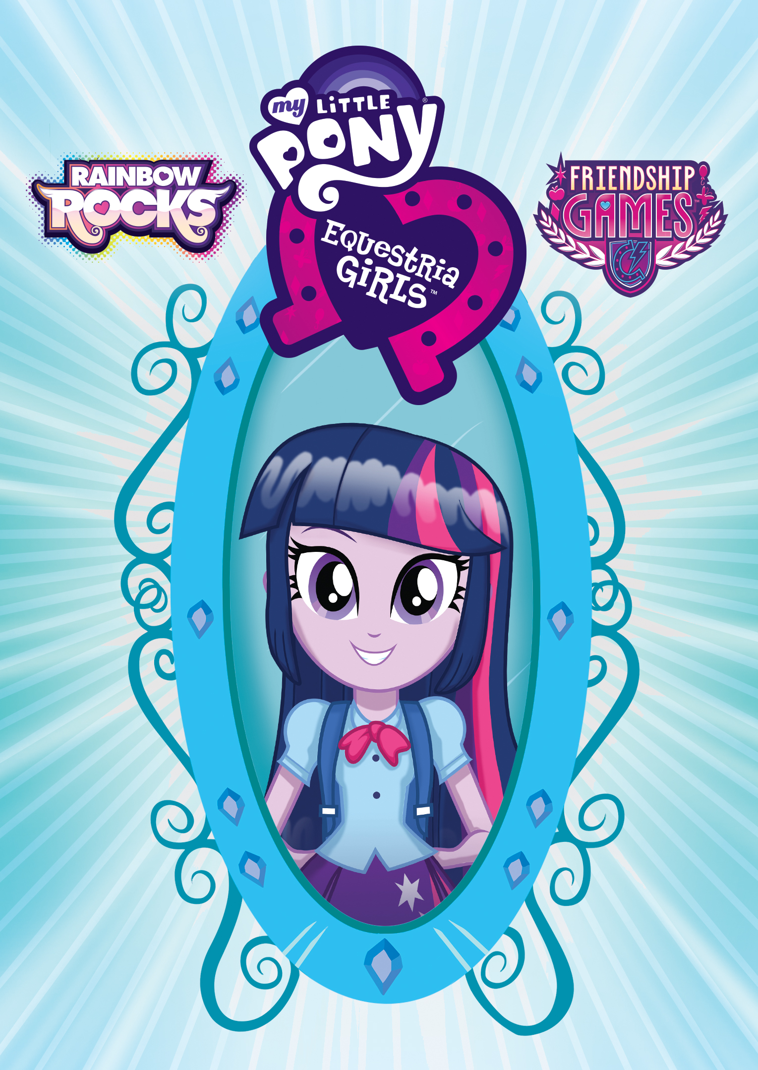 My Little Pony Rainbow Rocks Equestria Girls Friendship Games Dvd Best Buy