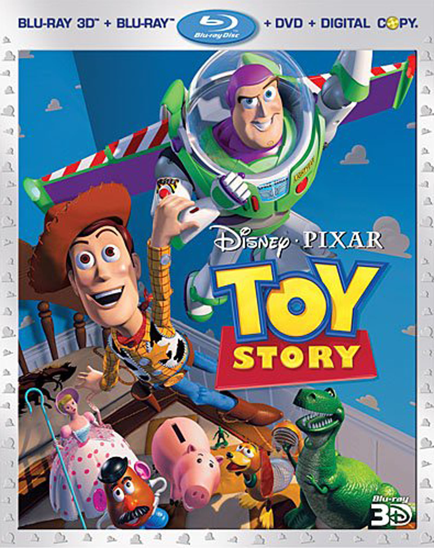 Best Buy Toy Story 4 Discs Includes Digital Copy 3d