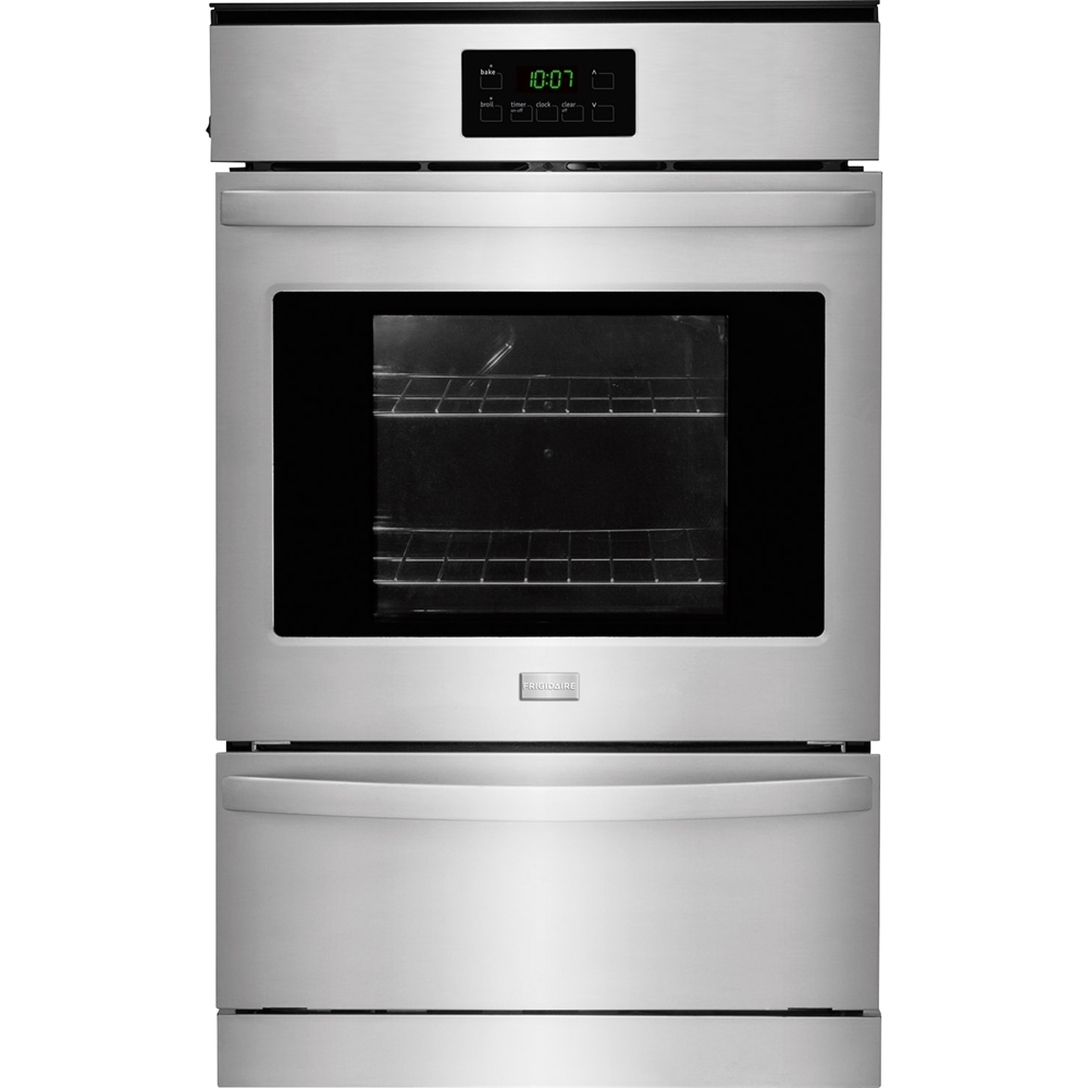 Frigidaire 24 Built In Single Gas Wall Oven Silver