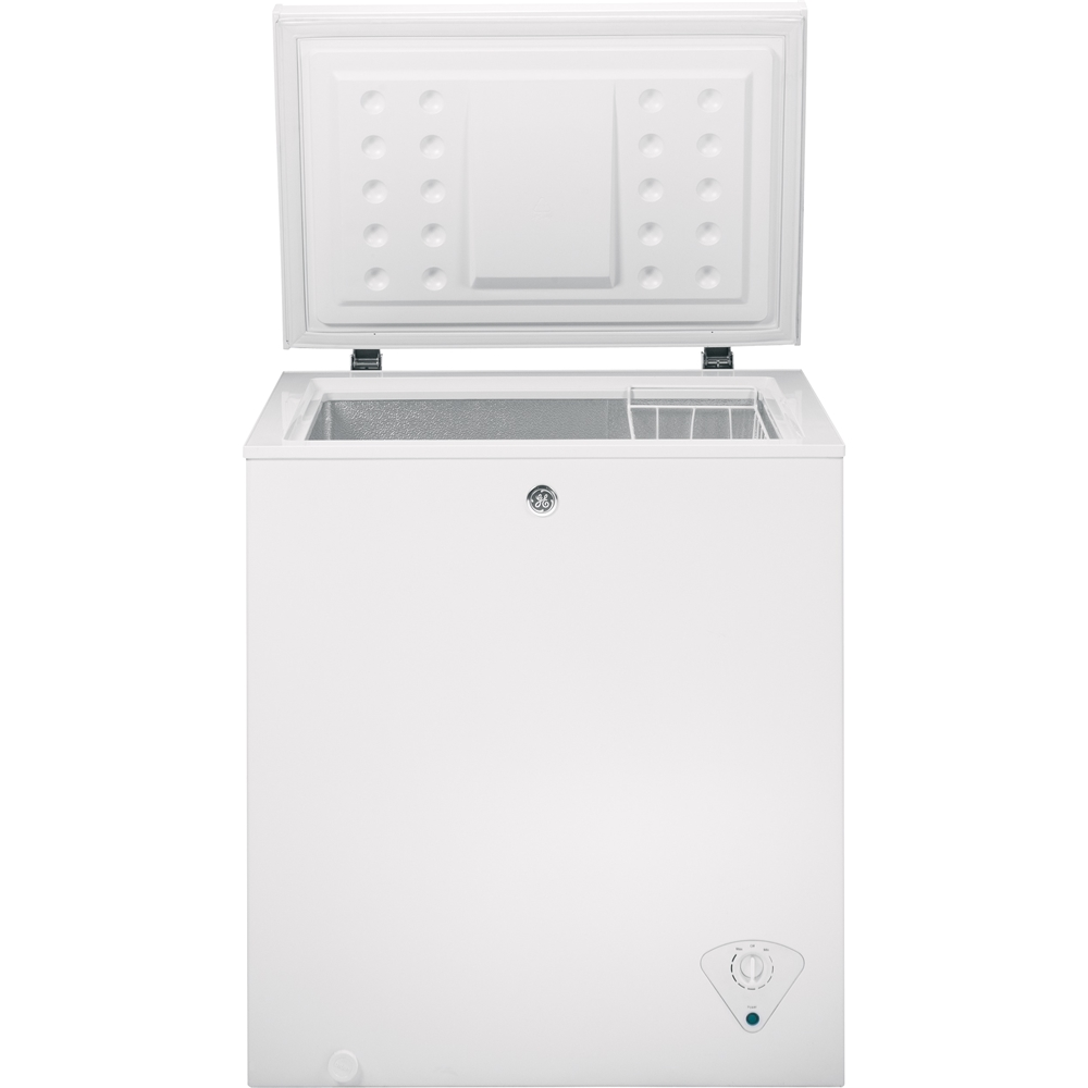 Customer Reviews Ge 5 0 Cu Ft Chest Freezer White Fcm5skww Best Buy