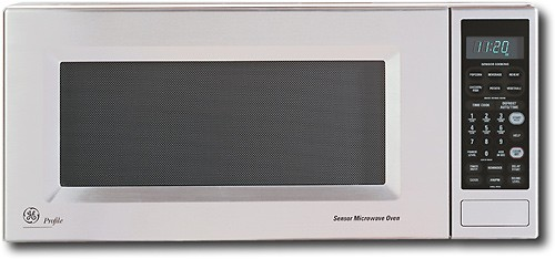 ge profile spacemaker ii 1 0 cu ft mid size microwave stainless steel