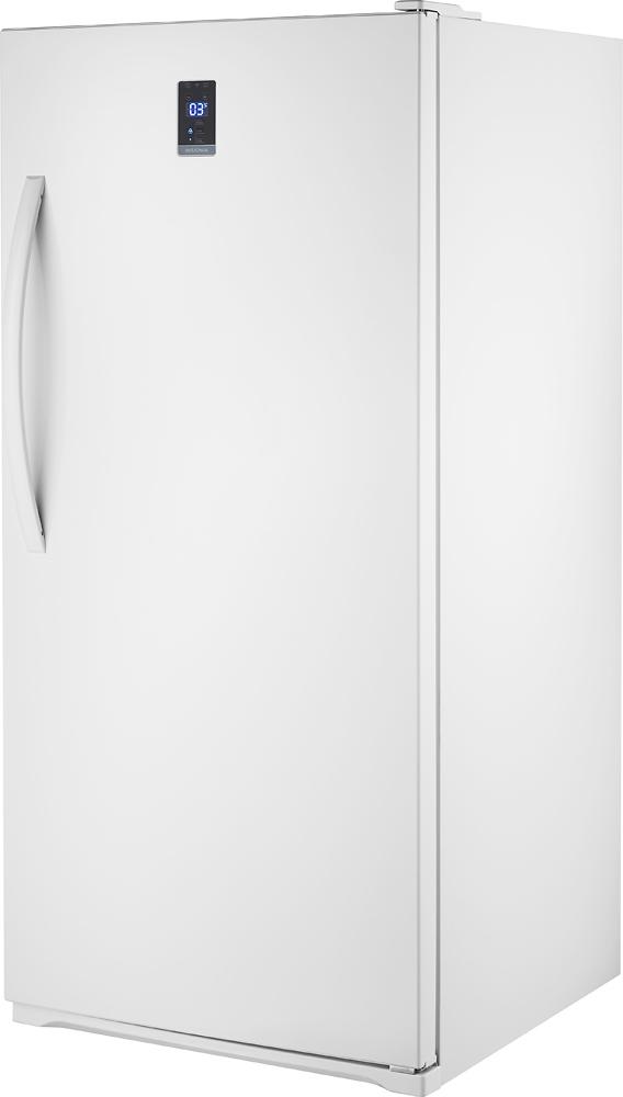 Best Buy Insignia 13 8 Cu Ft Frost Free Upright Convertible Freezer Refrigerator White Ns Uz14xwh7