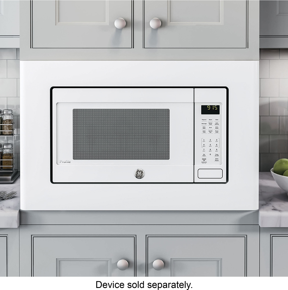 ge deluxe 29 8 trim kit for microwaves white