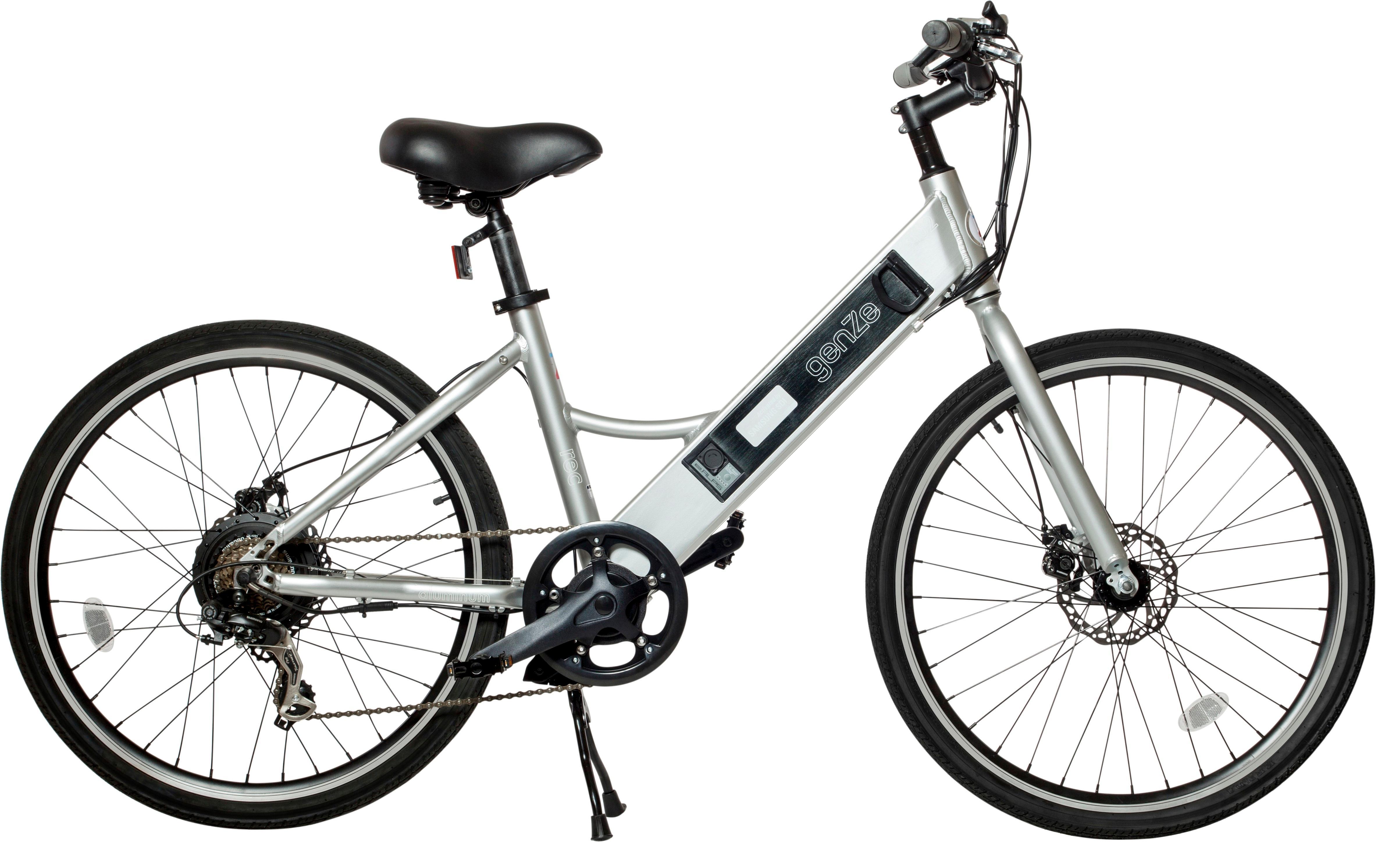 Genze E102 Rec Riser Electric Bike Silver 16 102 Sil 350