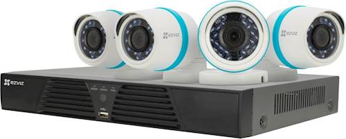 Security System 4 Ezviz Camera Home