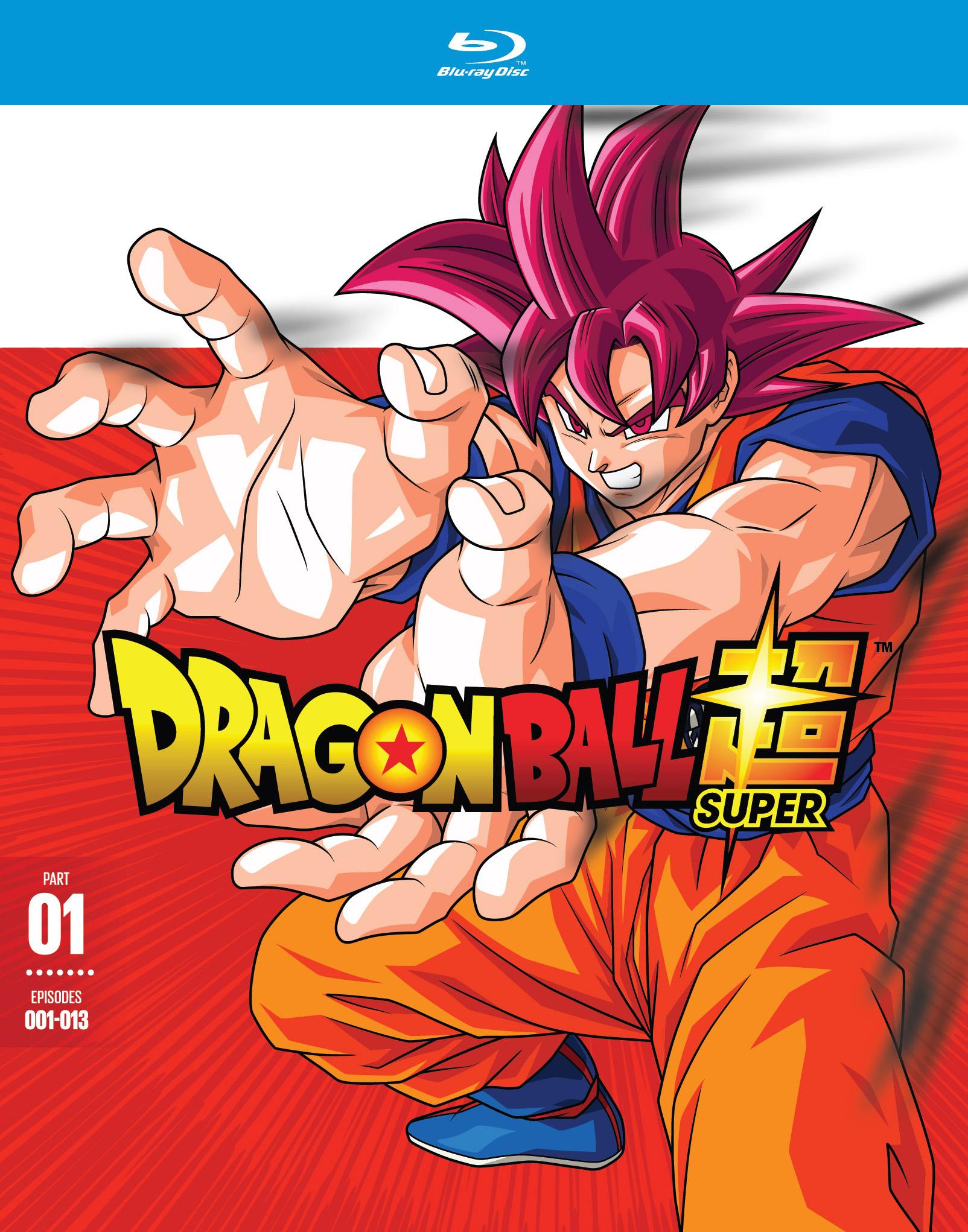 Dragon Ball Super Part One Blu Ray 2 Discs
