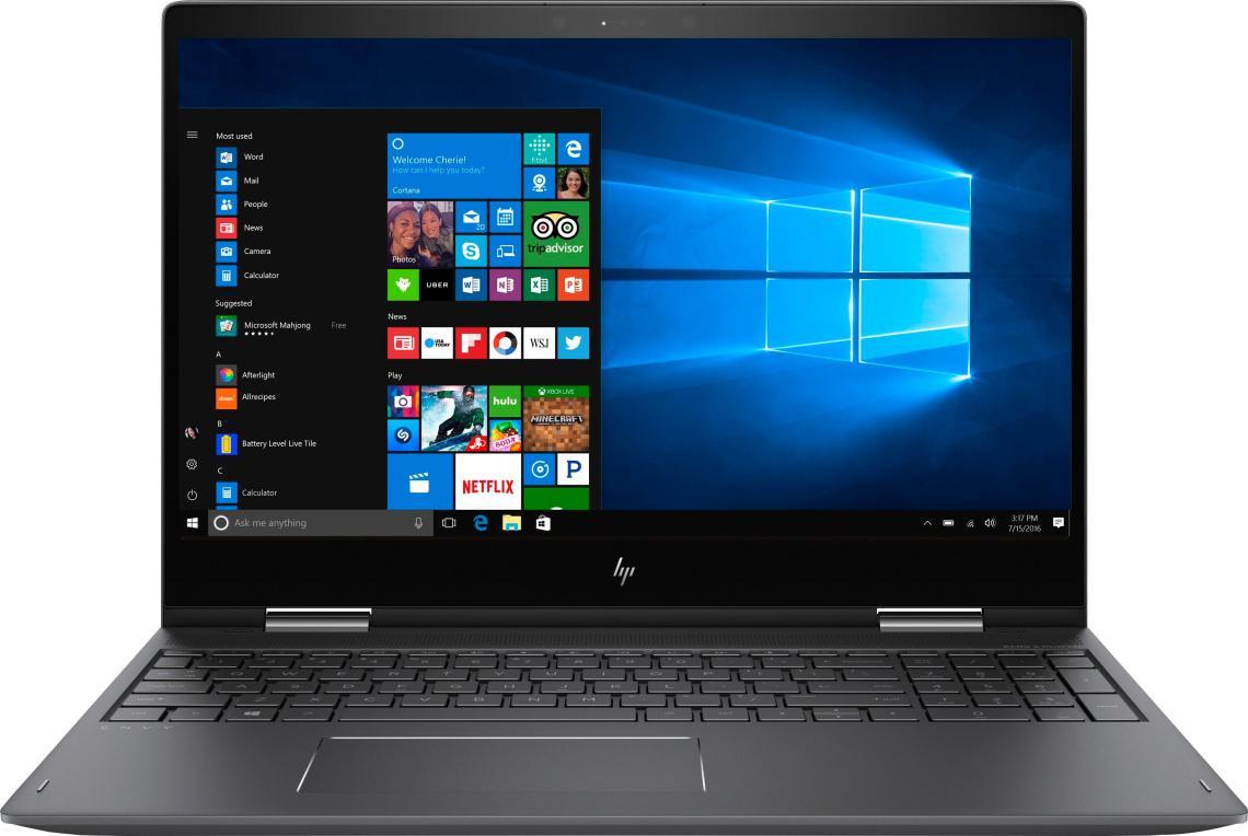 Best Buy Hp Envy X  Touchscreen Laptop Amd Fx Gb Memory Amd Radeon R Tb Hard Drive Hp Finish In Dark Ash Silver M Bqdx