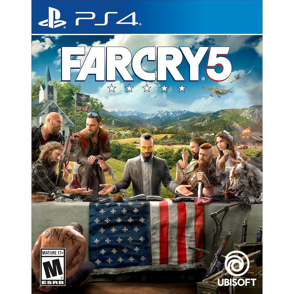 Far Cry 5   PlayStation 4   Best Buy Far Cry 5   PlayStation 4   Front Zoom