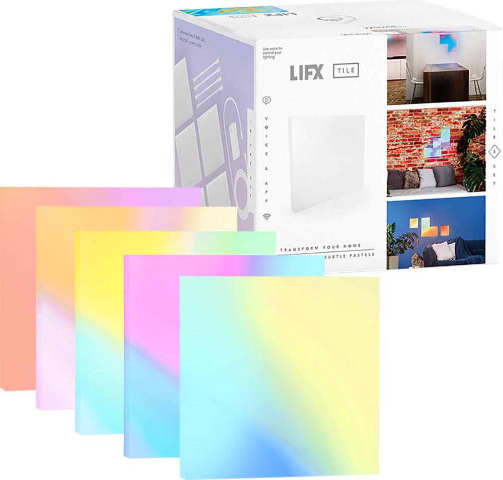lifx wi fi led tile kit multicolor