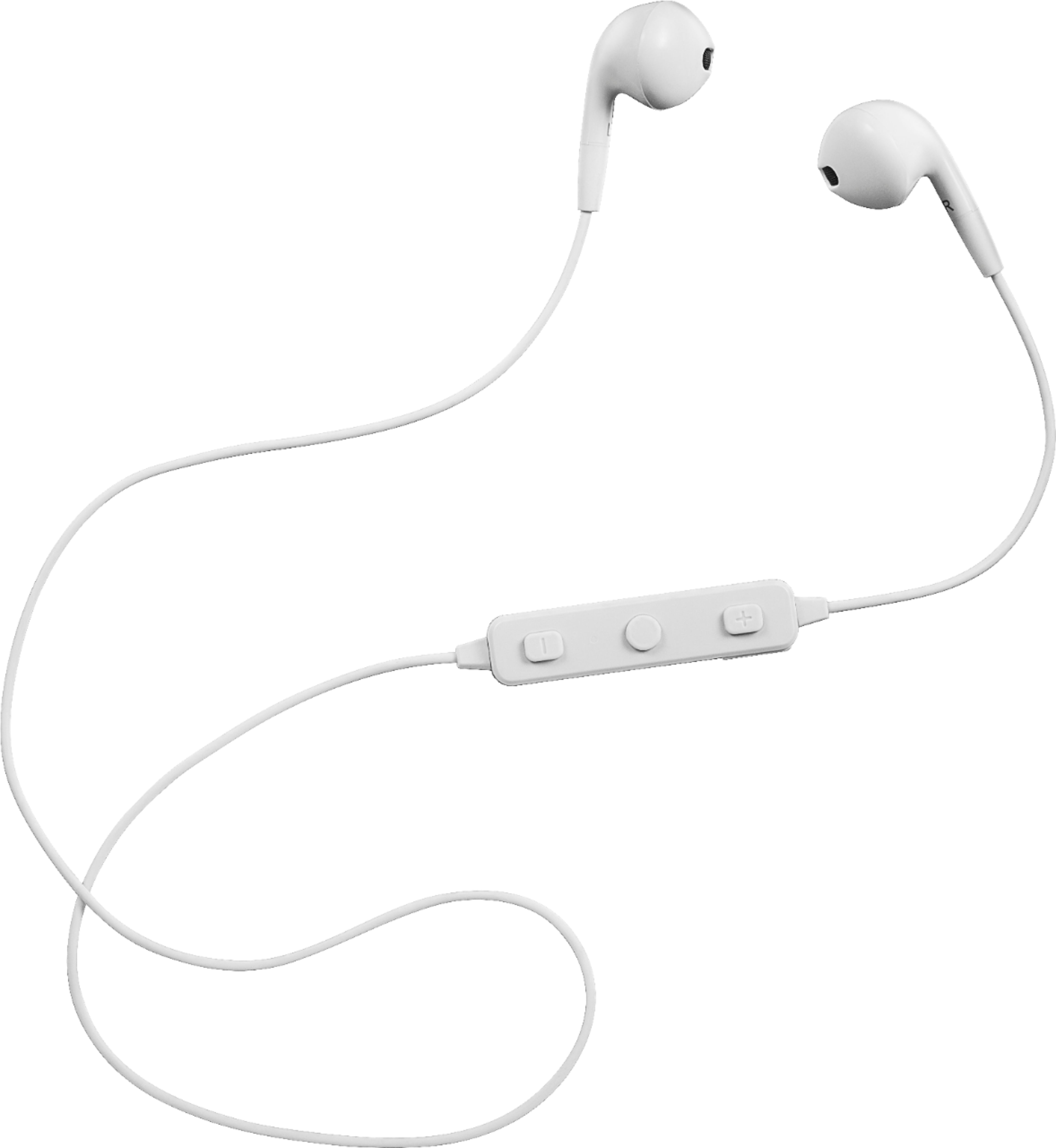 Insignia Wireless Earbud Headphones Off White Ns