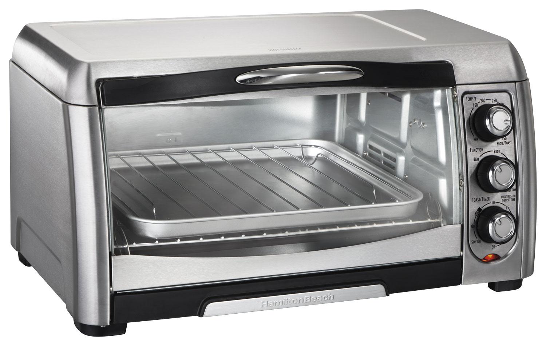hamilton beach convection toaster oven stainless steel