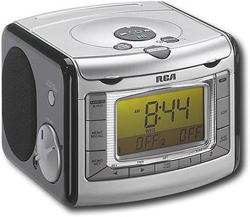 Best Rca Cd Clock Radio With Am Fm
