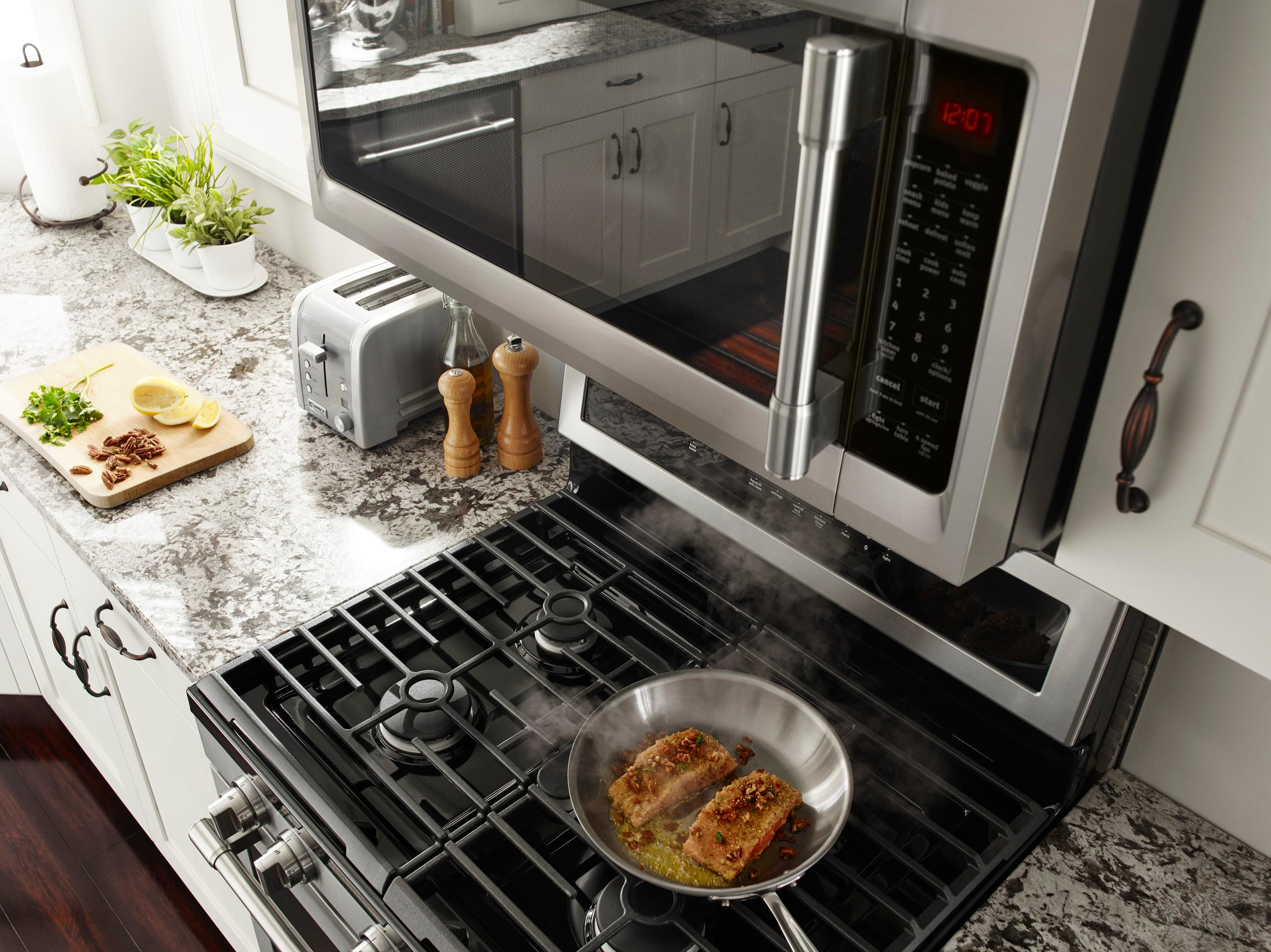maytag 2 0 cu ft over the range microwave stainless steel