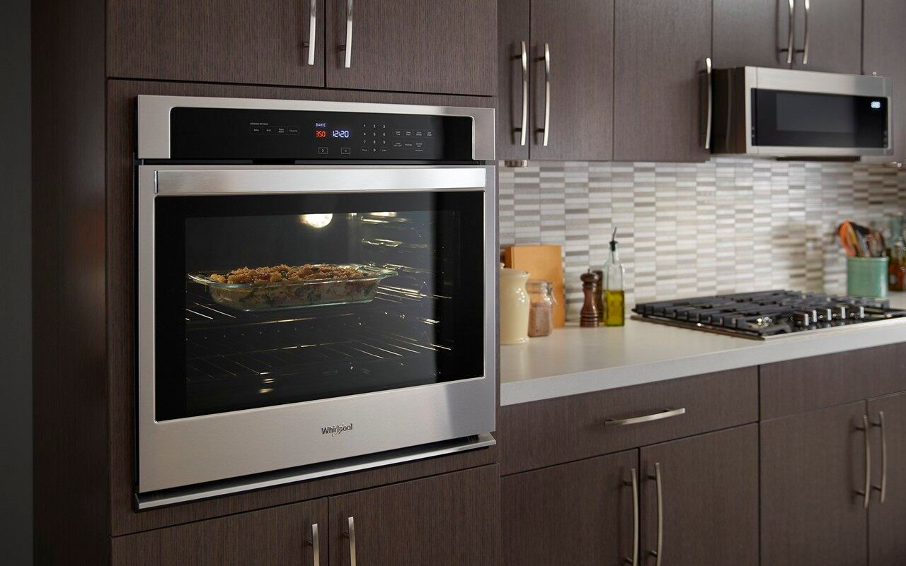 whirlpool 1 1 cu ft low profile over the range microwave hood combination stainless steel