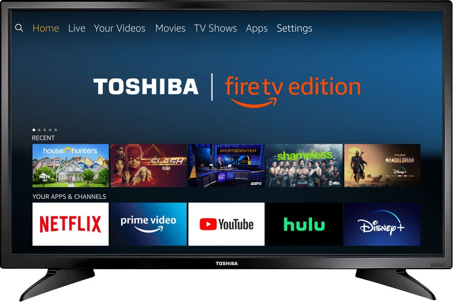 "Toshiba - 32"" Class – LED - 720p – Smart - HDTV – Fire TV Edition"