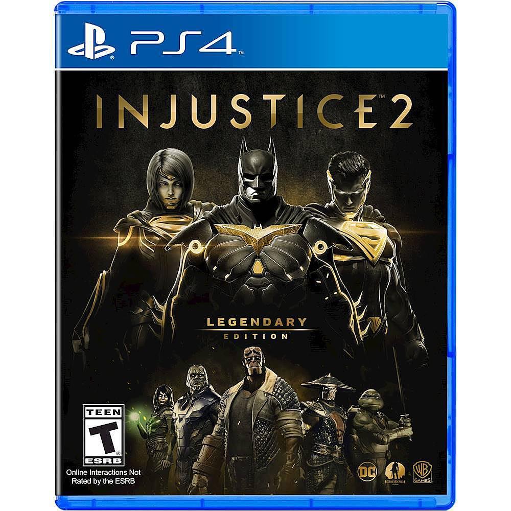 Injustice 2 Legendary Edition PlayStation 4 Best Buy