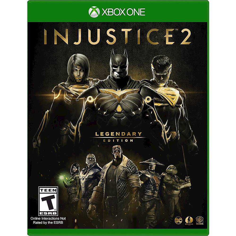 Injustice 2 Legendary Edition Xbox One Best Buy