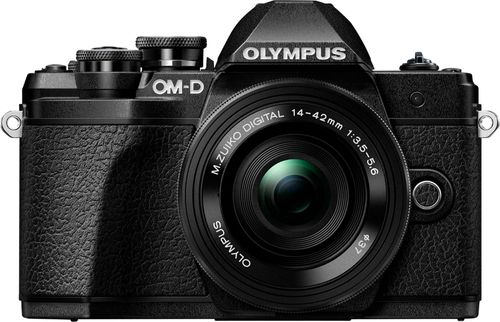 Olympus - OM-D E-M10 Mark III Mirrorless Camera with 14-42mm Lens - Black