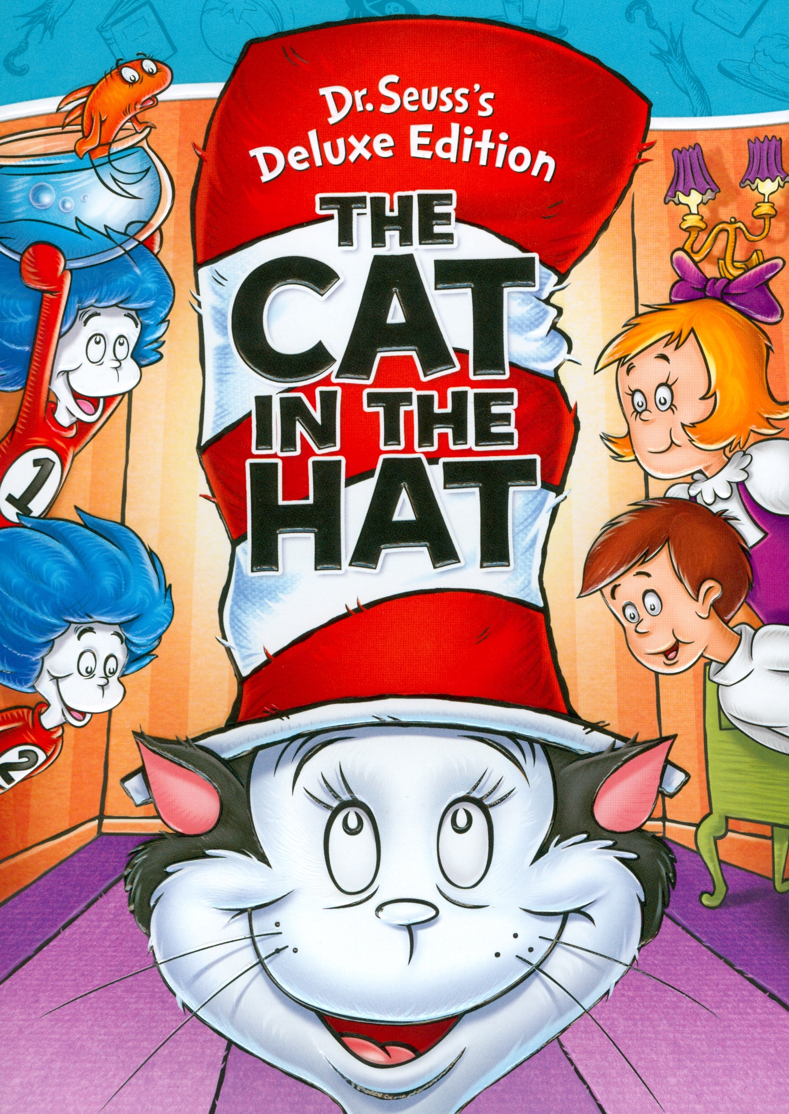 Dr Seuss S The Cat In The Hat Deluxe Edition Dvd