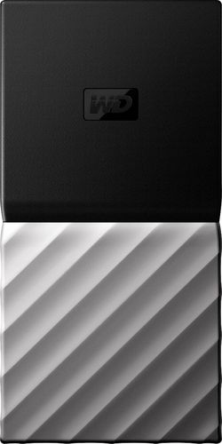WD - My Passport SSD 512GB External USB 3.1 Gen 2 Portable Solid State Drive - Black
