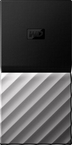 WD - My Passport SSD 1TB External USB 3.1 Gen 2 Portable Solid State Drive - Black